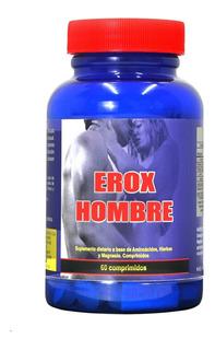 Erox Hombre Vigorizante Masculino Potencia Sexual