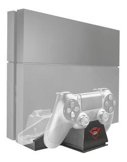 Cooler Ps4 Fat Trust Gxt 702 Pedestal 2 Bases Carga Joystick