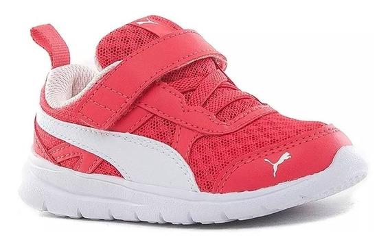 Puma Zapatillas Running Niña Flex Essential V Inf Rosa - Bco