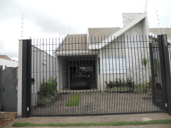 Casa Térrea Nova Em Maringá No Jardim Paris Vi