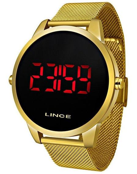 Relógio Lince Dourado Mdg4586l Pxkx