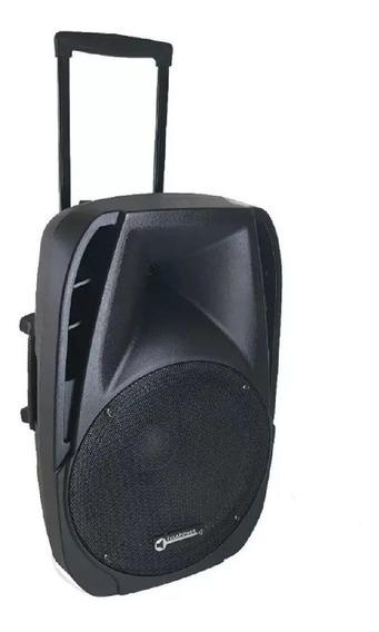 Caixa De Som Ativa Amplificada 15 Pl 2mic 500w Rms Bluetooth