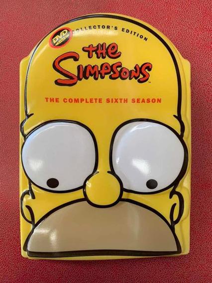 Los Simpsons Sexta Temporada Edición De Colección