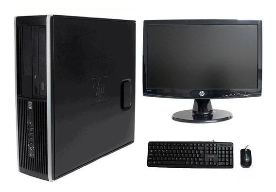 Computador Hp Elite 8100 I5 8gb 320gb Monitor 18 Polegadas