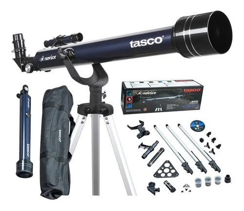 Imagen 1 de 10 de Telescopio Tasco Novice Altazimuth 402x60 Con Mirilla 6x24