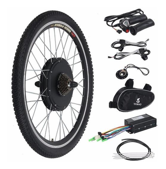 36v 500w Kit Para Bicicleta Eléctrica Rodada 26 Trasera