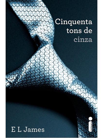 Livro Cinquenta 50 Tons De Cinza