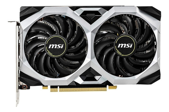 Placa de video Nvidia MSI GeForce GTX 16 Series GTX 1660 Ti GEFORCE GTX 1660 TI VENTUS XS 6G OC OC Edition 6GB