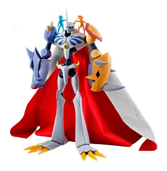 Action Figure Digimon Omegamon Sh Figuarts Bandai Original