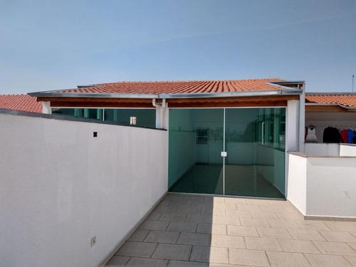 Imagem 1 de 15 de Cobertura Para Venda Em Santo André, Vila Valparaiso, 2 Dormitórios, 1 Suíte, 1 Banheiro, 2 Vagas - Sa037e_2-1162023