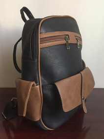 Backpack Mochila 255 Bolsa Boy Neverfull Negra Textura Piel