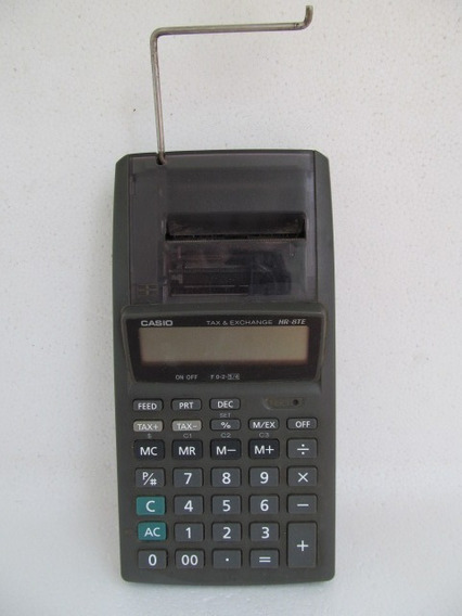 Calculadora De Bobina Casio Tax 6 Exchange Hr-8te