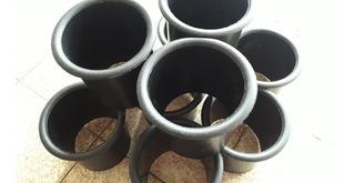 Tubos De Sintonia Plásticos Diametro 10cm Largo 11cm