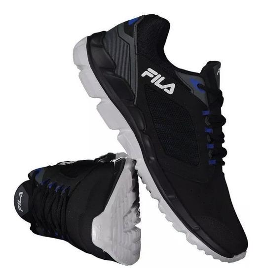 Tênis Fila Sharp 11j599x-3316 Preto/azul