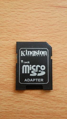 Adaptador Kingston De Micro Sd A Sd. En Blister 4 Und