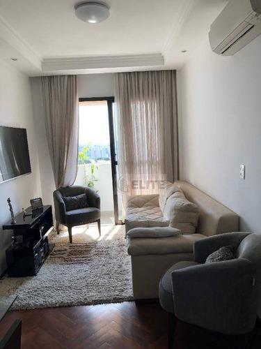 Apartamento Com 3 Dormitórios À Venda, 75 M² Por R$ 424.000,00 - Jardim Stella - Santo André/sp - Ap9098