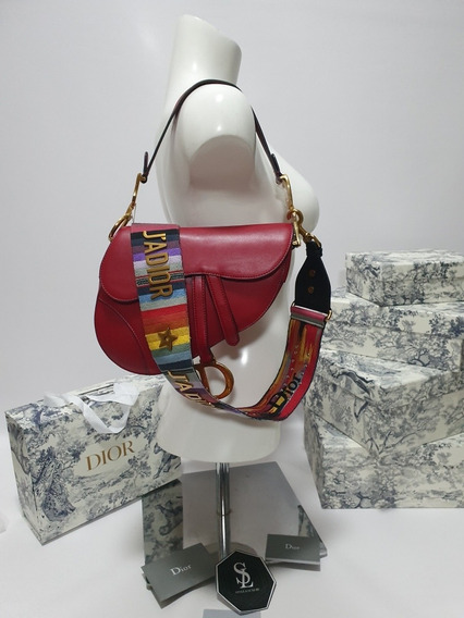 Bolsa Dior Saddle Red Incluye Strap
