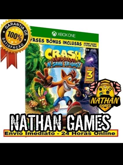 Crash Bandicot Digital Xbox One + 1 Jogo Grátis