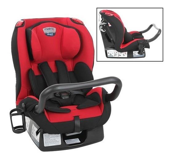 Cadeira Cadeirinha De Carro Burigotto Matrix Evolution Red