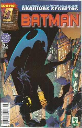 Batman 35 Dc Comics Editora Abril 1999
