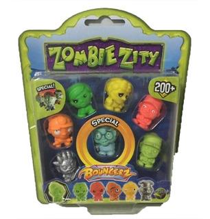 Muñeco Zombie Zity Figuras X 7 Dracco M131009