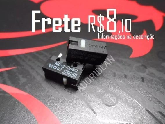 Botão Omron Mouse Razer Logitech Motospeed Steelseries Zowie