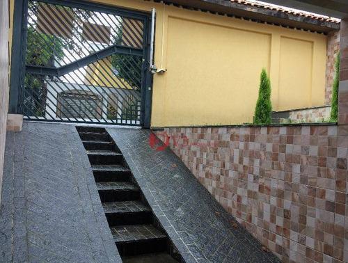 Sobrado Com 3 Dormitórios À Venda, 300 M² Por R$ 870.000,00 - Cidade Patriarca - São Paulo/sp - So0265