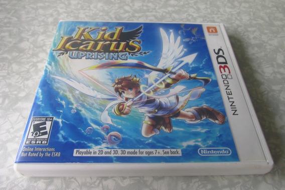 Nintendo 3ds - Kid Icarus Uprising + Cards - Original