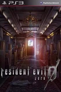 Resident Evil Zero 0 Ps3 Juegos Digitales Tenelo Hoy