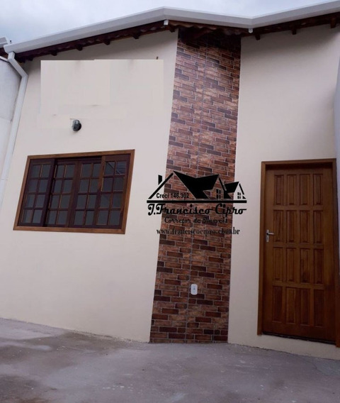Casa A Venda No Bairro Vila Roma Em Roseira - Sp. - Cs029-1