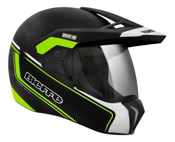 Capacete Para Moto Bieffe 3 Sport Stato