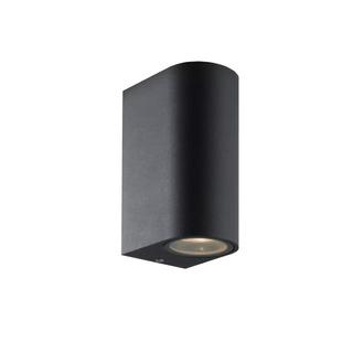 Aplique Exterior Bidireccional Aluminio Led Akim Candil