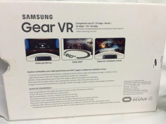 Óculos Samsung Gear Vr - Original Usado Uma Vez