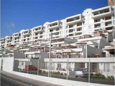 Frente A Inacap, Vista Al Mar, 3 Dormitorios, 2 Baños, Estacionamiento. Gastos Comunes Incluidos