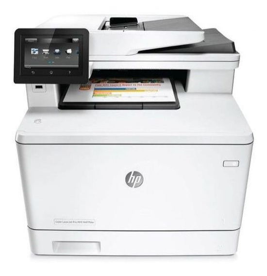 Multifuncional Laser Color Hp M477fdw