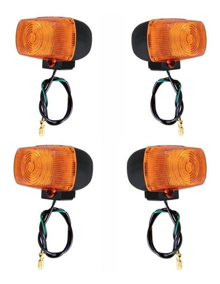 Jogo 4 Pisca Seta Bros 125 / Bros 150 Modelo Original