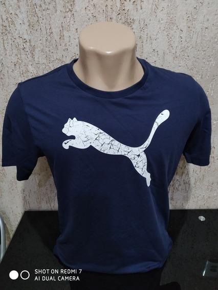 Camiseta Puma Essentials Logo - MasculinaOriginal