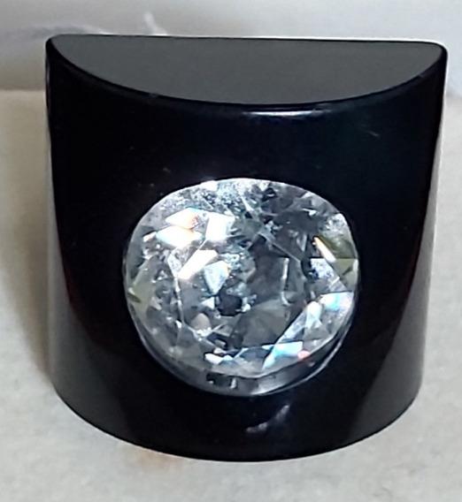 Rdf01885 - Anel Em Resina E Cristal