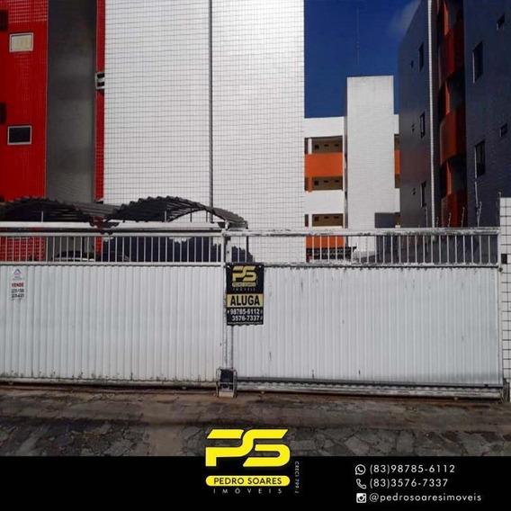 Apartamento Com 3 Dormitórios Para Alugar, 90 M² Por R$ 1.080/mês - Água Fria - João Pessoa/pb - Ap3301