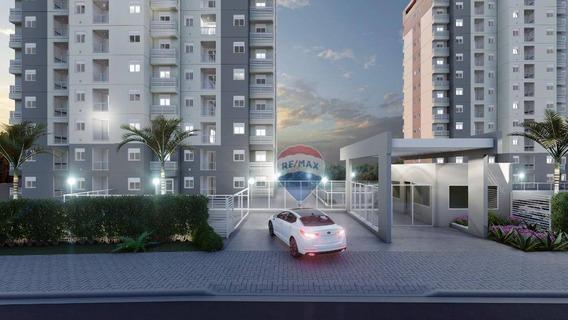 Apartamento Com 2 Dormitórios À Venda, 44 M² Por R$ 165.830 - Esplanada Do Carmo - Jarinu/sp - Ap0828