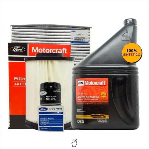 Imagen 1 de 10 de Kit Filtros Aceite + Aire + Polen + 5w30 4 Lts Focus 1.6 2.0