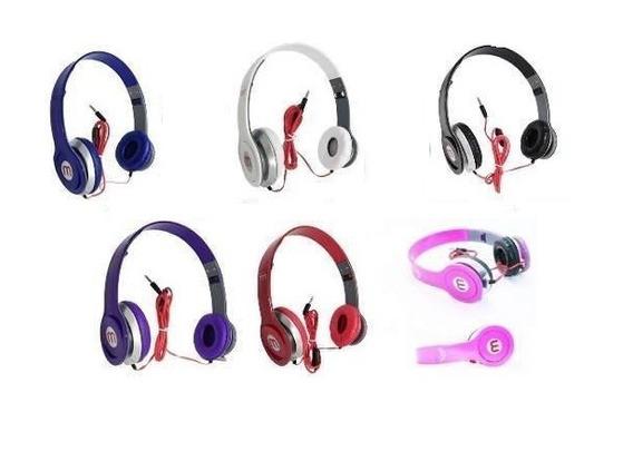 2 Fone Ouvido Mex Style 567 Headfone P/ Celular Mp3 Radio