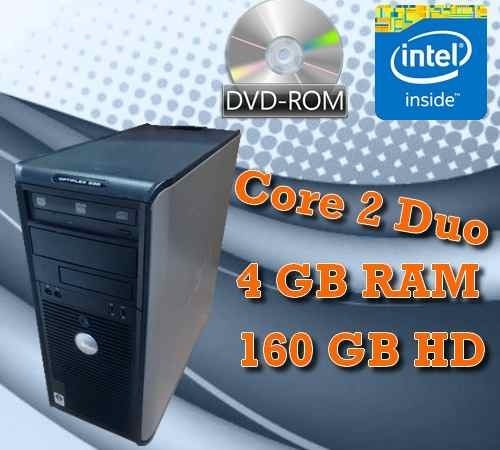 Computador Dell Optiplex 760 Core2duo, 4gb + Wifi