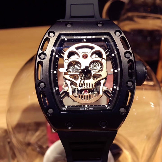 Reloj Richard Mille Rm52 Tourbillon Skull