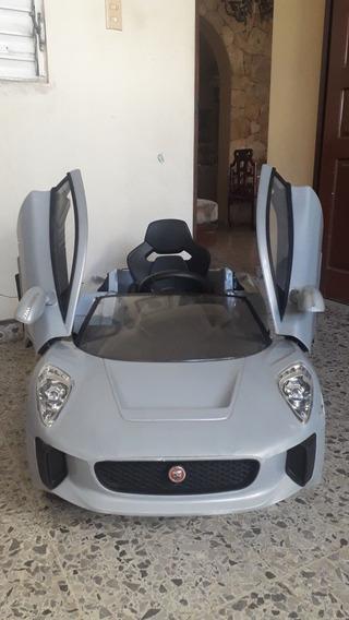 Jaguar Deportivo Para Montar Recargable Y Control Remoto