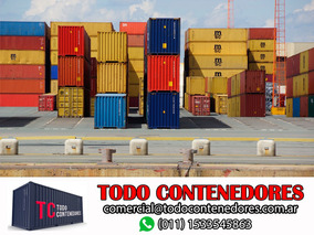 Contenedores Maritimos Usados 40 Nacionalizado 1ª Selecc