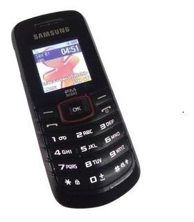 Samsung Gt-e1086l Rádio Fm Celular Teclado - Super Fino