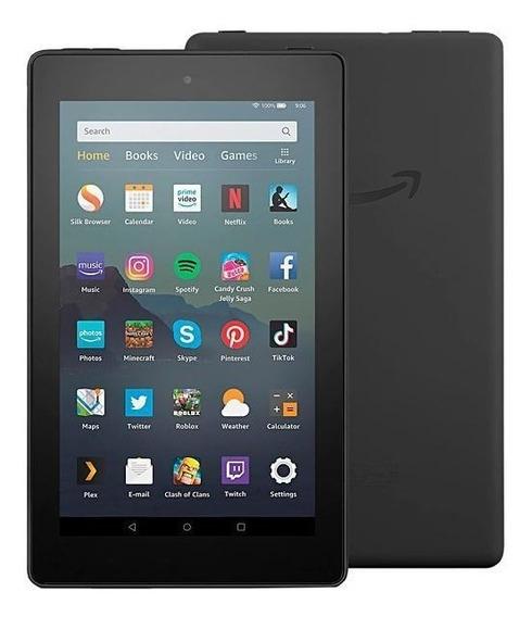 Tablet Amazon Fire 7 9ª Geração 16gb De 7.0 2mp/2mp Preto