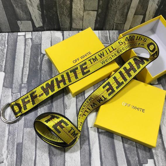 Cinturones Offwhite Con Envio Gratis