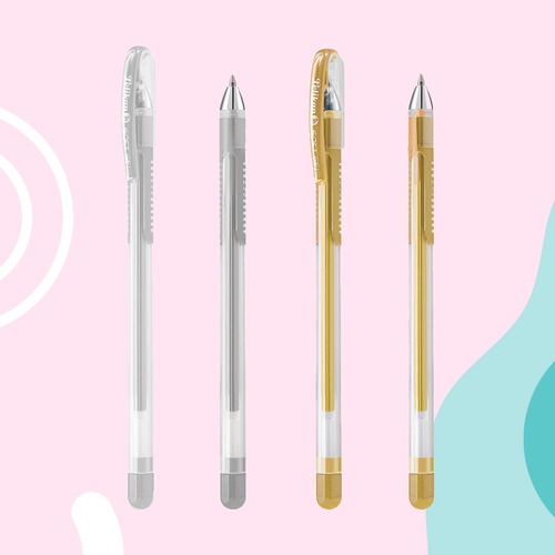 Bolígrafos Pelikan Soft Gel (oro Y Plata)